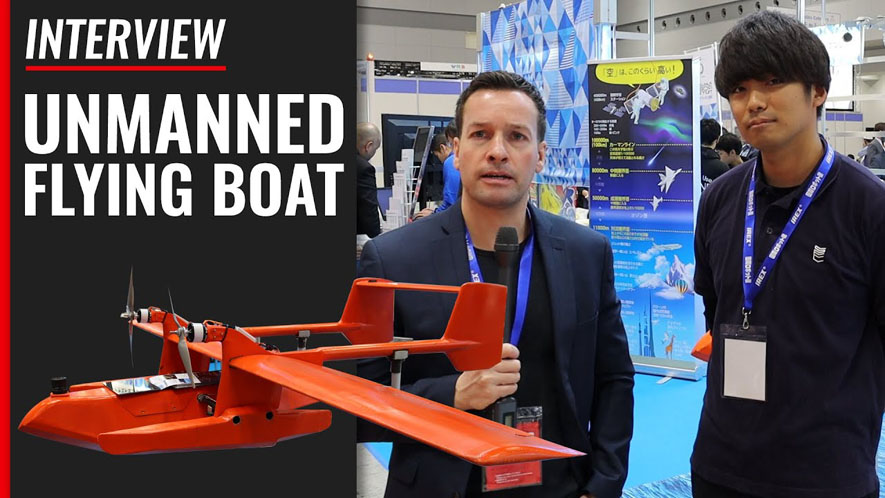 Unmanned Flying Boat